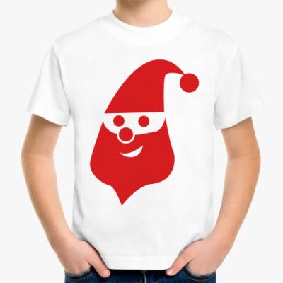 Детская футболка Красный Дед Мороз