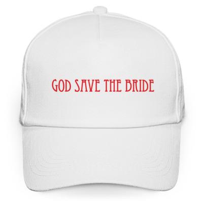 Кепка бейсболка 'God Save The Bride'