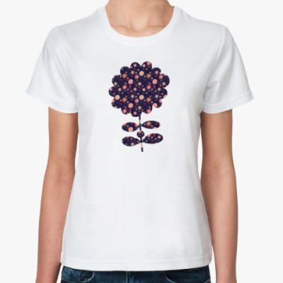 Классическая футболка Флора