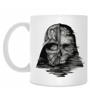 Кружка Darth Vader Skull