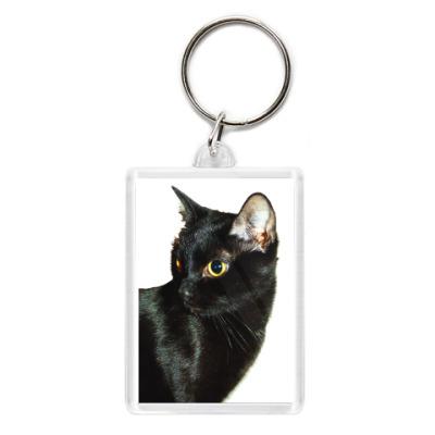 Брелок Чёрная кошка