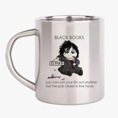 Кружка металлическая Black Books Dylan Moran