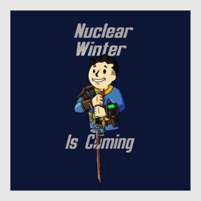 Постер Ядерная Зима Близко