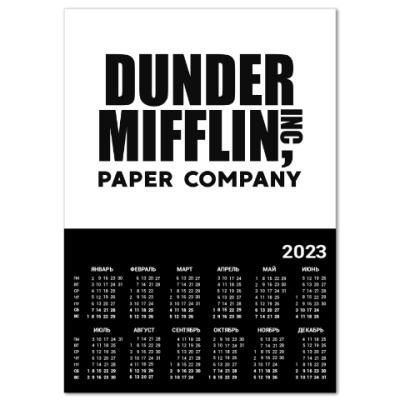 Календарь Dunder Mifflin / The Office