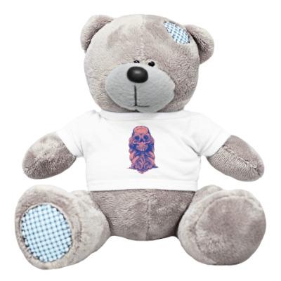 Плюшевый мишка Тедди Череп со щупальцами