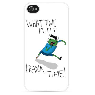 Чехол для iPhone Prank Time