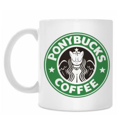 Кружка Ponybucks Coffee