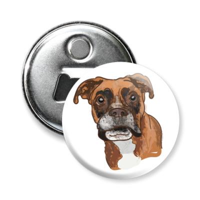 Магнит-открывашка Пёс