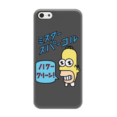 Чехол для iPhone 5/5s Симпсоны: Японский Гомер