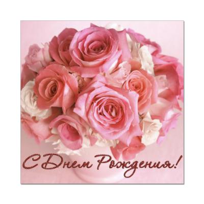Наклейка (стикер) Розы