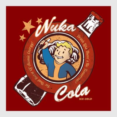 Постер Fallout Nuka Cola Vault Boy