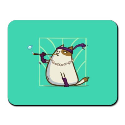 Коврик для мыши Кэтсби — Пятничный Котик №33