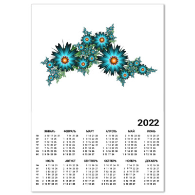 Календарь Цветы