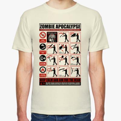 Футболка Зомби апокалипсис. Инструкция