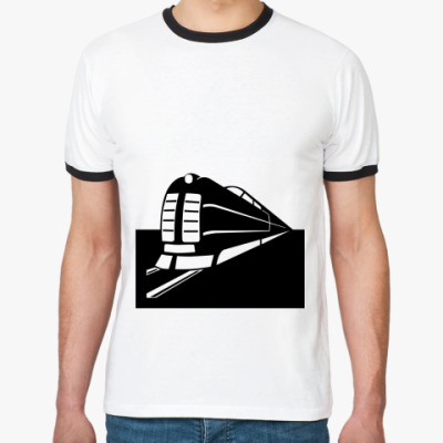 Футболка Ringer-T Поезд