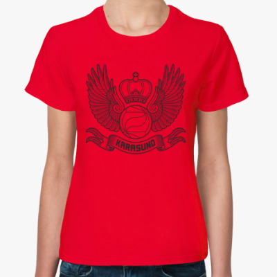 Женская футболка Haikyuu!! Волейбол!!