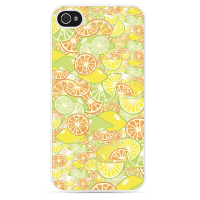 Чехол для iPhone Цитрусовый Рай!