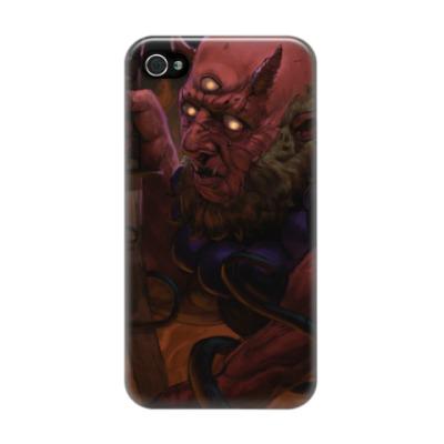 Чехол для iPhone 4/4s демон