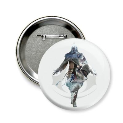 Значок 58мм Assassin's Creed