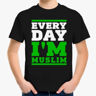 Детская футболка Детская футболка Stedman, черная