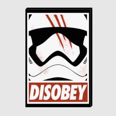 Холст Star Wars: Disobey