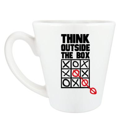 Чашка Латте Think Outside The Box