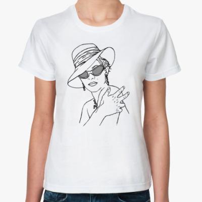 Классическая футболка 80's woman