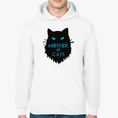Толстовка худи Mother of cats