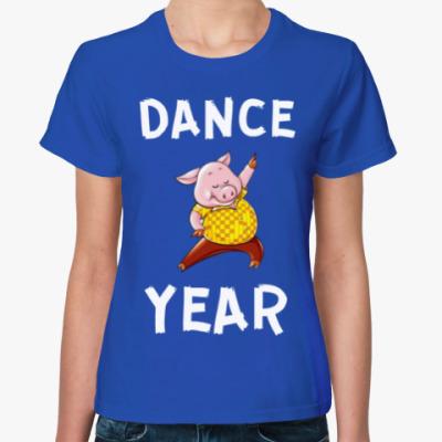 Женская футболка DANCE YEAR