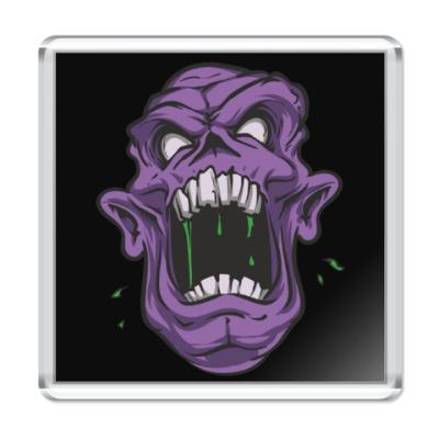 Магнит Zombie, Зомби