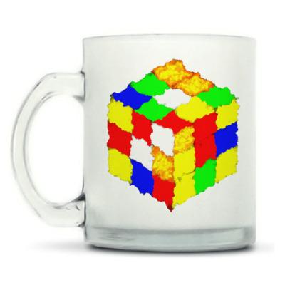 Кружка матовая Кубик Рубика