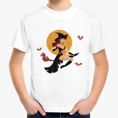 Детская футболка Ведьмочка