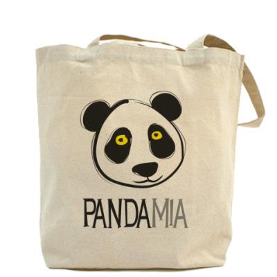 "Холщовая сумка ""Панда"""