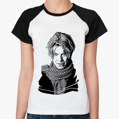 Женская футболка реглан David Bowie