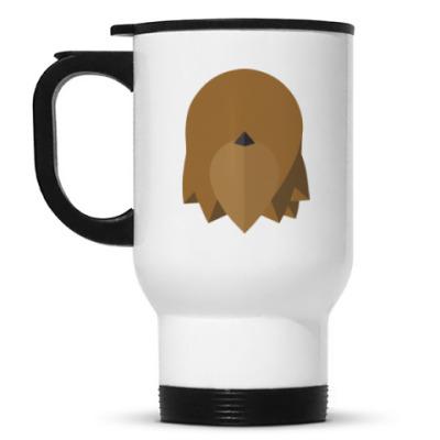 Кружка-термос Чубакка (Chewbacca) Минимализм