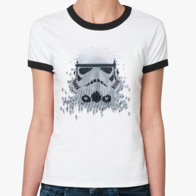 Женская футболка Ringer-T Штурмовик из Штурмовиков