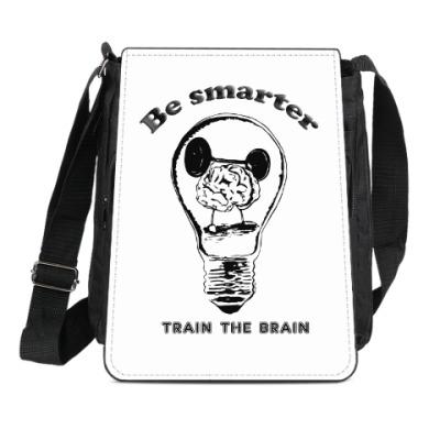 Сумка-планшет Будь умней тренируй мозги
