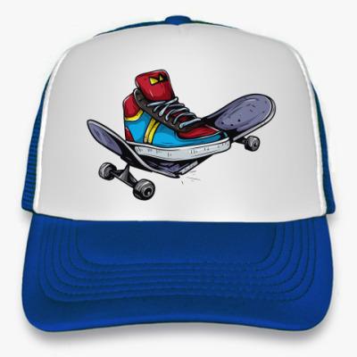Кепка-тракер Broke Skate