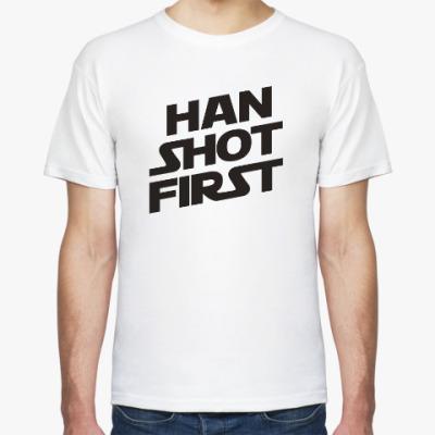 Футболка HAN SHOT FIRST