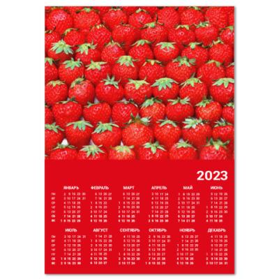Календарь Клубничка