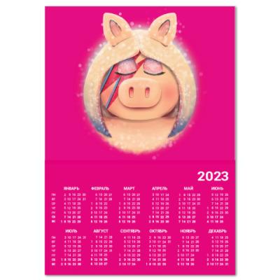 Календарь Miss Piggy Stardust Мисс Пигги