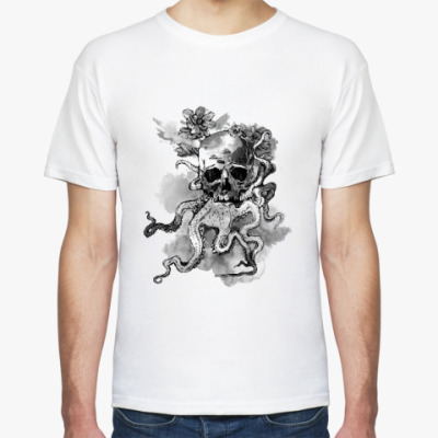 Футболка Череп-кальмар