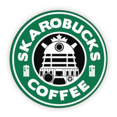 Костер (подставка под кружку) Skaro Coffee DOCTOR WHO Dalek