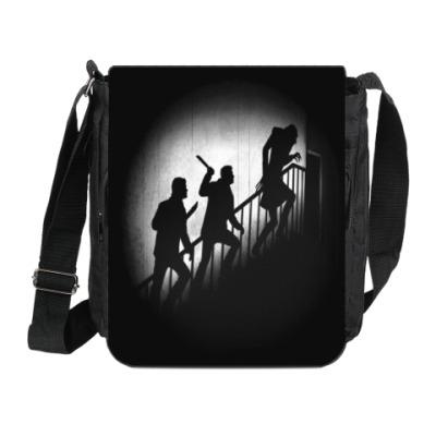 Сумка на плечо (мини-планшет) Supernatural vs Nosferatu