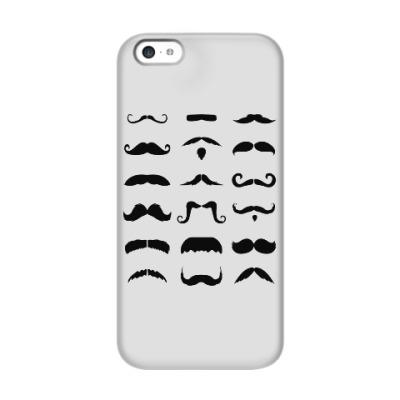Чехол для iPhone 5c Усы