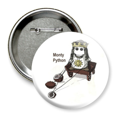 Значок 75мм Monty Python