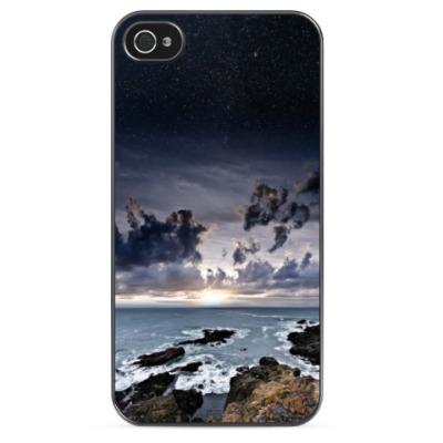Чехол для iPhone Море и звезды