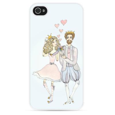 Чехол для iPhone Принцесса и принц