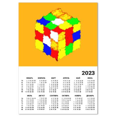Календарь Кубик Рубика