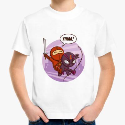 Детская футболка SUPERHEROES